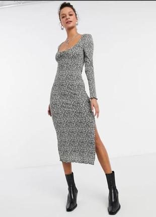 Платье миди topshop