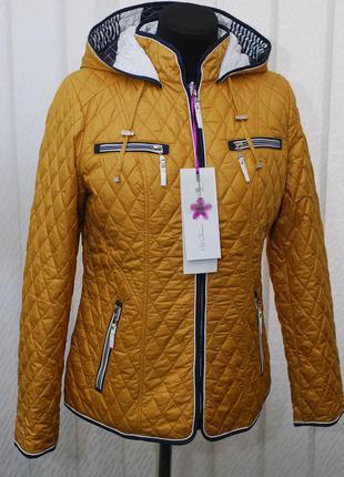 Куртка весна-осень на синтепоне. двухсторонняя
