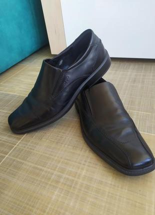 Туфли ecco из натуральной кожи