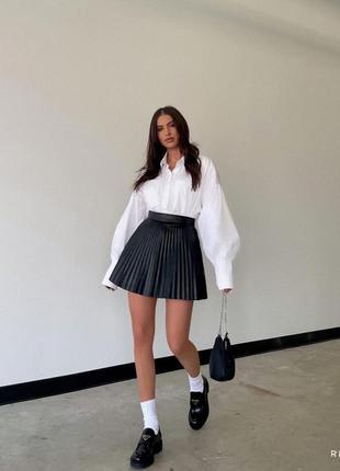Плиссированные юбки 🖤