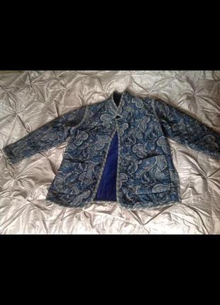 Двусторонний бархатный пиджак koos of course!