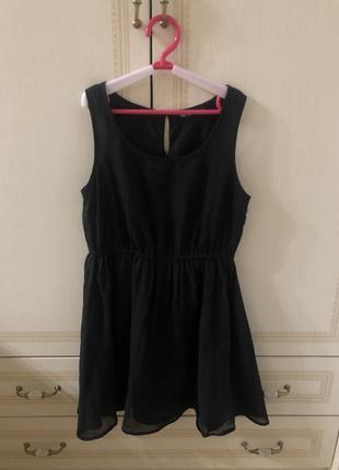 Шифоновое платье terranova