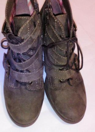 Ботинки полусапожки casablanca 38размер стелька 25см