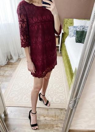 Платье в винном цвете от apricot