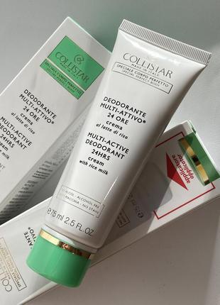 Кремовый дезодорант collistar