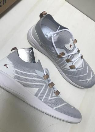 Viking белые дышащие кроссовки. размер 39,5-40