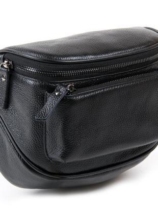 Женская кожаная сумка из натуральной кожи жіноча шкіряна на плечо клатч кожаный бананка