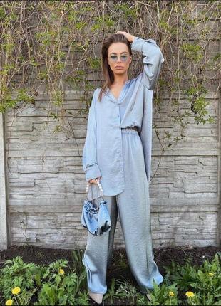 Пижамный костюм шёлк