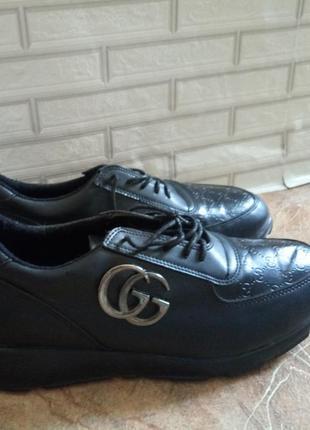 Кроссовки туфли gg