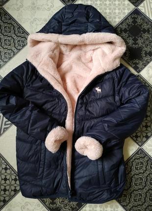 Куртка двусторонняя теплющая