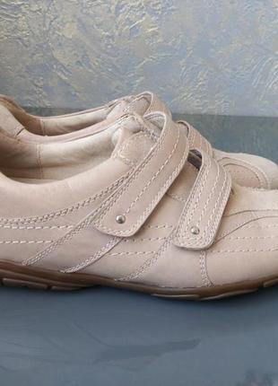 Фирменные кожаные кроссовки medicus уценка