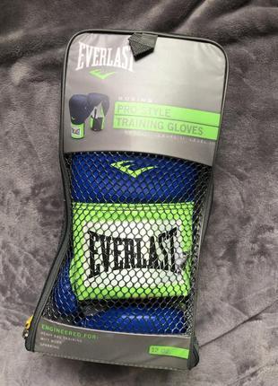 Боксерские перчатки everlast pro style training