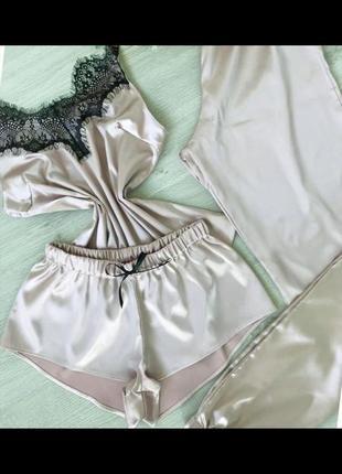 Пижама, домашний комплект, комплект для отдыха