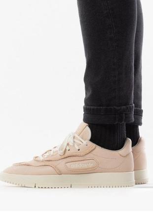 Шкіряні кросівки adidas оригінал