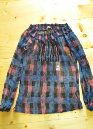 Dept шифонова блуза