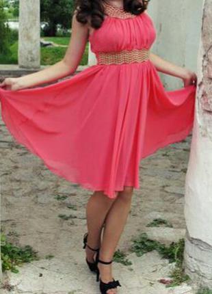 Очень красивое греческое платье