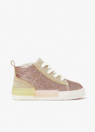 Zara детские ботинки кроссовки кеды зара 22 размер