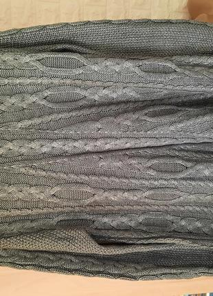 Шикарный свитер с напылением, серебро