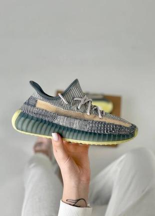 Шикарные женские кроссовки adidas yeezy boost 350 v2 наложка