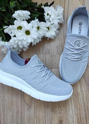♥️розпродаж!жіночі текстильні кросівки