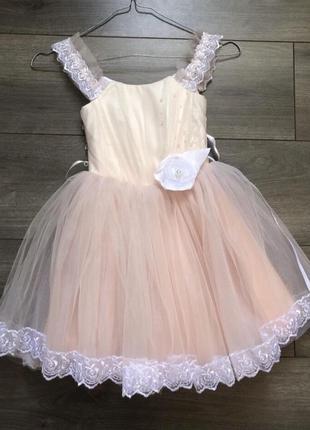 Платье на 3/4 года