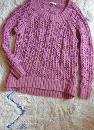 1+1=3 свитер в дырочку