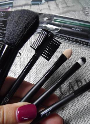 Набор кистей для макияжа malva m 301 черные