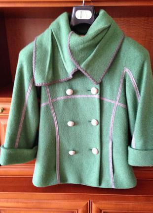 Пальто 100 % шерсть