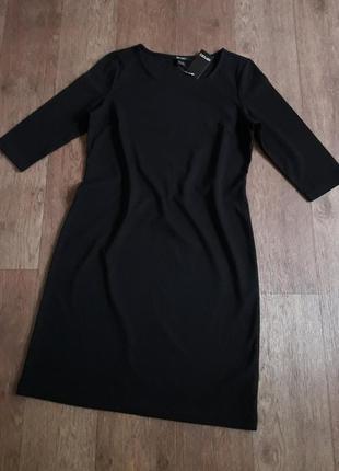 Классическое черное платье рукав 3/4 esmara германия