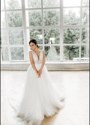 Весільна сукня demi, millanova