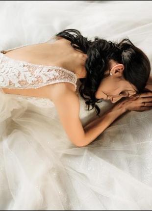 Весільна сукня demi, millanova3 фото