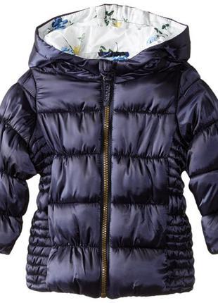 Теплая элегантная куртка rothscild на девочку 18-24 месяца 1,5-2  года