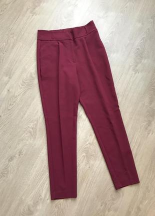 Штаны брюки с высокой талией