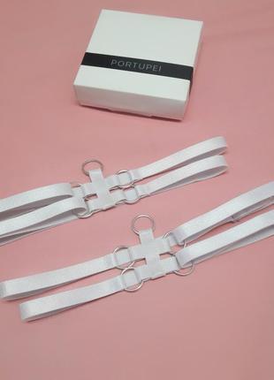 Портупея, контурное белье, гартеры, стрепы, подвязки