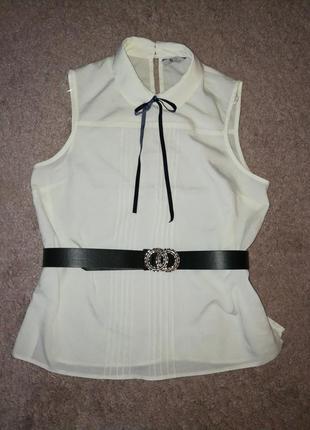 Блуза с бантиком