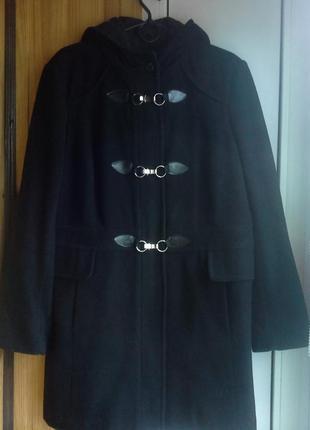 Пальто biaggini (весна-осень,черное,на наш 52 разм.)