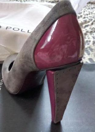 Оригинальные туфли. studio pollini.