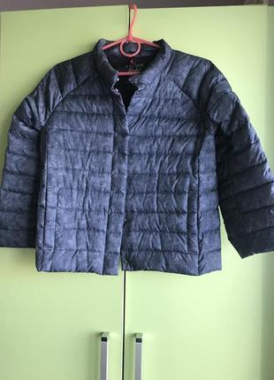 Куртка  -пуховичок стеганая,укороченая