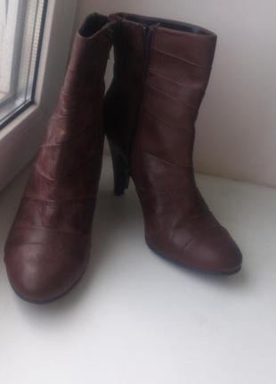 Очень удобные ботинки clarks