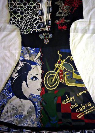 Платье desigual р. xs-s новое