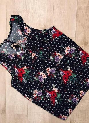 """Красивая блуза в горошек """"george"""""""