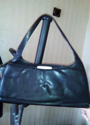 Кожаная строгая сумка bmw*