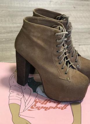 Ботинки jeffrey campbell 38р