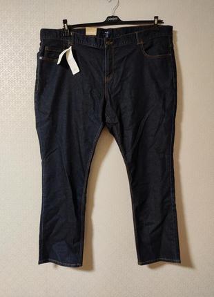 Шикарные темно синие джинсы большого размера