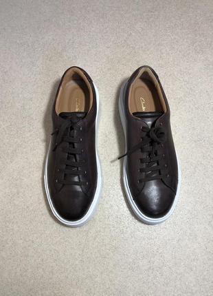 Туфли clark's великобритания кожа премиум класса