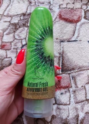 Крем для рук фруктовый wokali natural fresh kiwifruit gel 100 г