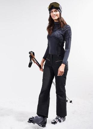 Водо-, ветрозащитные лыжные брюки, штаны softshell от тсм tchibo (чибо), германия,m-l