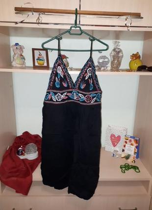 Скидки!!! 💖💕шикарное летнее платье с вышивкой, сарафан