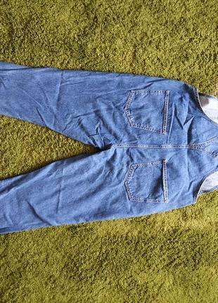 Комбинезон джинсовый l-xl2 фото