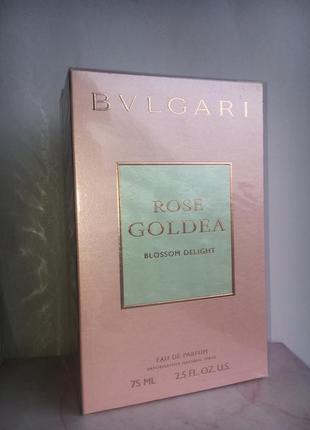 Парфюмированная вода bvlgari rose goldea blossom delight